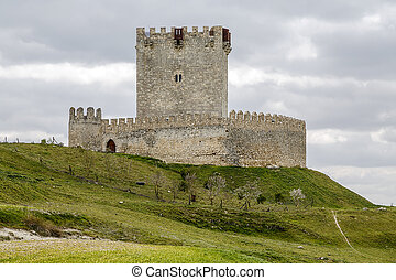 Tiedra castle, Valladolid Spain - Tiedra castle, Valladolid,...