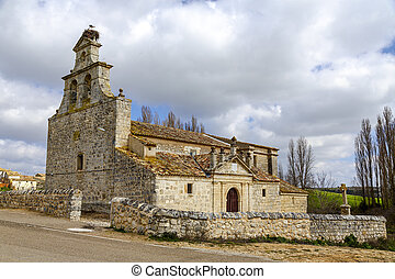 Church, Barruelos del Valle - Valley Church in Barruelos,...
