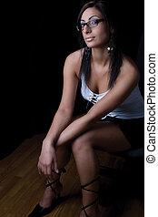 Fashion model - secretary - Twenty something fashion model...