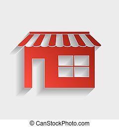 Store sign illustration