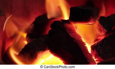 Burning Fire Close-up of burning fire