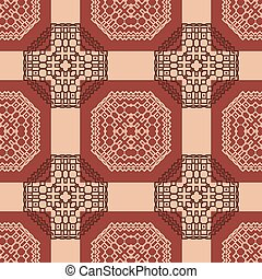 tribal abstract seamless pattern