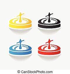 realistic design element: roulette