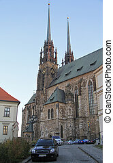 Cathedral of St Peter and Paul in Brno, Czech