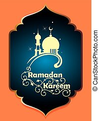 Ramadan Kareem - Design celebratory illustrationRamadan...
