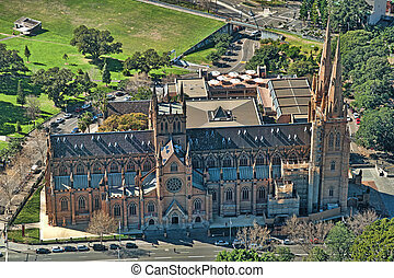 St Mary Cathedral, Sydney - Cathedral of St Mary in Sydney,...