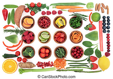 Healthy Super Food Sampler - Health and super food selection...