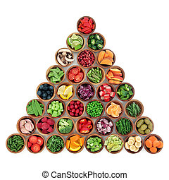 Healthy Superfood Selection - Superfood of fruit and...