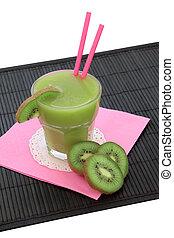 Kiwi Smoothie Health Drink