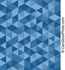 Tile vector blue background