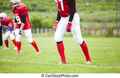 The football team is ready