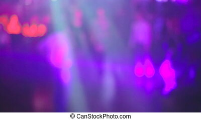 Background of soundlight in the club