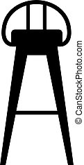 Bar stool, shade picture