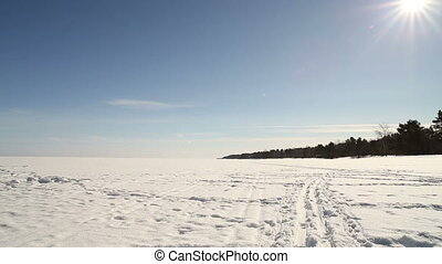 Panorama Winter Nature