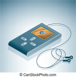 MP3 Multimedia Player is a part of the Isometric 3D Computer...