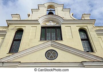 The church at Cienfuegos