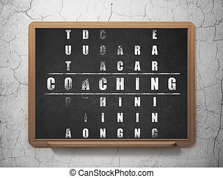Learning concept: Coaching in Crossword Puzzle - Learning...