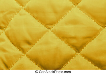 quilted fabric texture of white color for hammering, -...