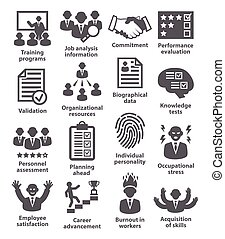 Business management icons. Pack 23. - Business management...