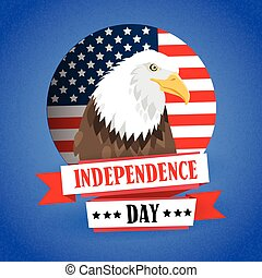 Eagle United States Of America Flag Independence Day