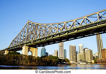Story Bridge Brisbane Australia - Story Bridge and the...
