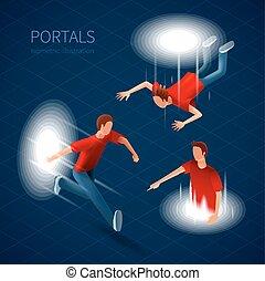 Way Out Portals Set