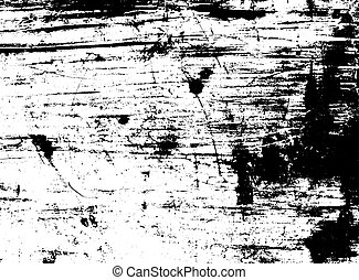 Scratched texture overlay. Vector background - Scratched...
