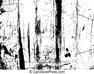Scratched texture overlay. Vector background