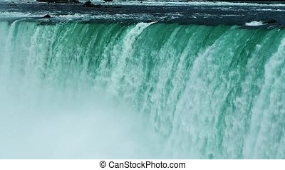 Niagara Fall close up