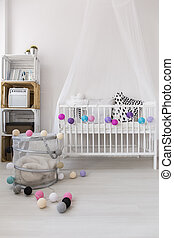 Little babys room designed with style - Stylish and modern...