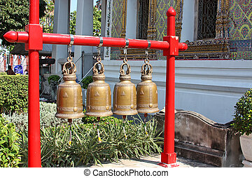 Bells at buddhist temple