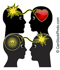 Thin Line between Love and Hate - Adoration can turn into...
