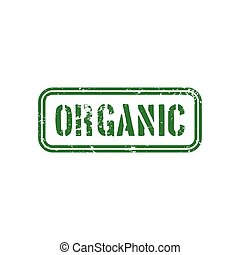 Healthy food label - abstract healthy food label no a white...