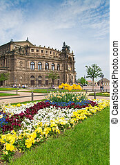 Semper Opera House, Dresden - The famous Semper Opera House...