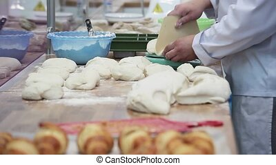Bakery Bread close up view - Bakery bread close up view,...