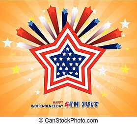 Happy 4th July independence day