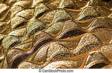 Gold Cog Teeth