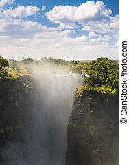Victoria Falls Devils Cataract - Victoria Falls Devils...
