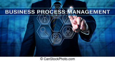 Executive Pressing BUSINESS PROCESS MANAGEMENT - Male...