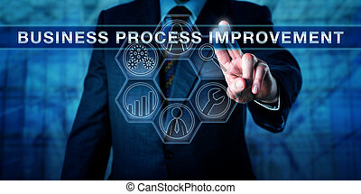 Administrator Pushing BUSINESS PROCESS IMPROVEMENT -...