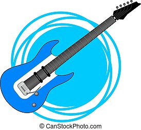 electric guitar - Creative design of electric guitar