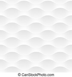 White vector background of abstract waves