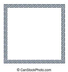 Decorative Greek frame for design