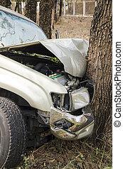 car crash tree - car crash