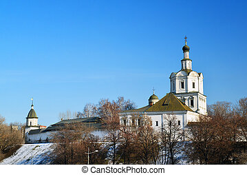 Spaso-Andronikov Monastery in Moscow, Russia -...