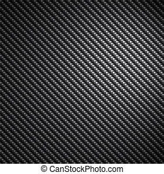 Black Carbon Fiber Texture - A black carbon fiber background...