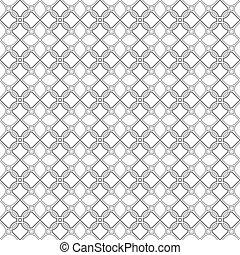 Delicate seamless stylized flower pattern in oriental style....