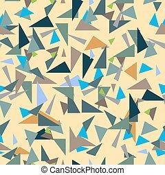 Confetti geometric seamless pattern