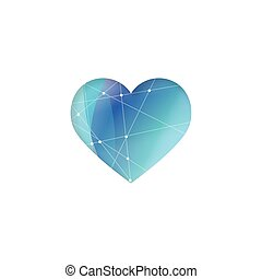Heart - graphic element. Heart image. - Heart - graphic...