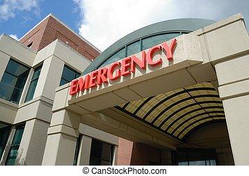 emergencia, habitación, señal